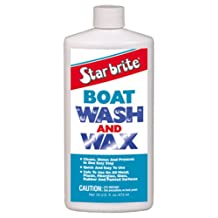 Star Brite Boat Wash Cleaner and Wax, 16-Ounce