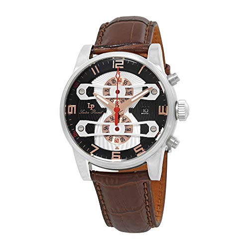 (Lucien Piccard Men's LP-40045-01-RA Bosphorbus Analog Display Japanese Quartz Brown Watch )