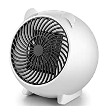 CSCR Mini Fan Heater PTC Ceramics Electric Heater,Suitable for Homes and Offices