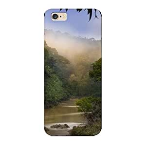 Inthebeauty Case Cover Protector Specially Made For Iphone 6 Plus Dawn Over Forest