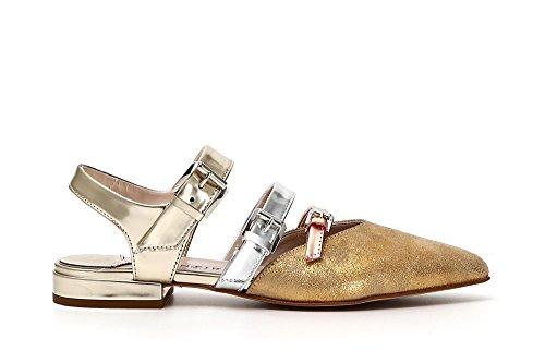 Caf�� Shoes 3 Multicaminadas Noir Gilda 1800 Kec615 Multi Bandas Oro Fleece aqC4a6Iw