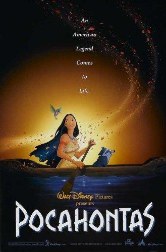 Pocahontas Poster Movie 1995 Style C