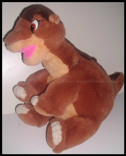 Dinosaur Plush LittleFoot From the Land Before Time By Gund/jc Penney -
