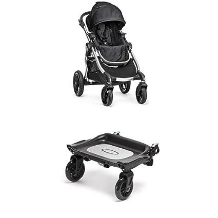 Baby Jogger - PACK Silla de Paseo Color Negro + Plataforma
