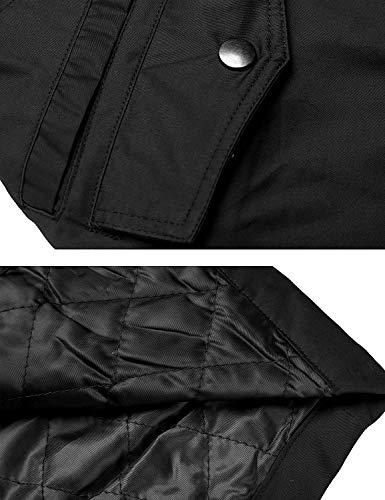 Tasche Slim Lunga Vintage Outerwear Cerniera Con Mantello A Colori Fashion Autunno Cappuccio Schwarz Giubotto Giubbino Coulisse Manica Solidi Donna Giacca Primaverile Casuale Fit xZ1qw0TUO