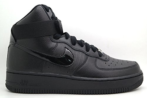 Nike Air Force 1 High Women Sneakers Black/Silver 334031-012 (SIZE: 7.5)