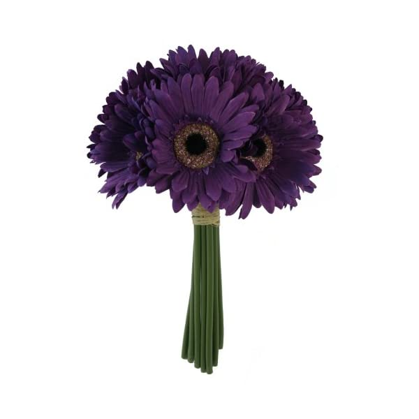 Purple Color Roses (Small Daisy Bouquet)
