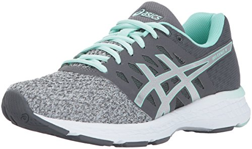 ASICS Womens Gel-Exalt 4 Running Shoe, Mid Grey/Silver/Glacier Sea, 6 Medium US