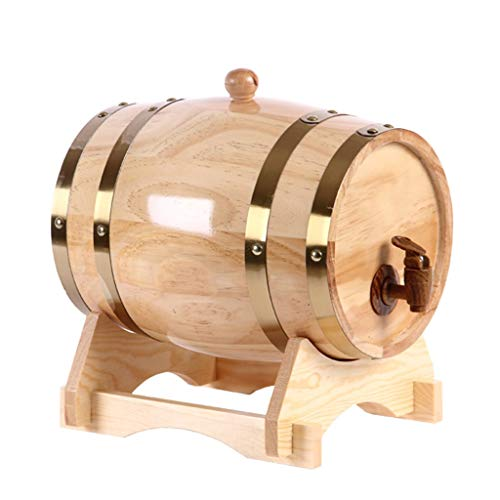 HQCC Oak Wine Barrel, Household Decoration Barrel Oak for sale  Delivered anywhere in Canada