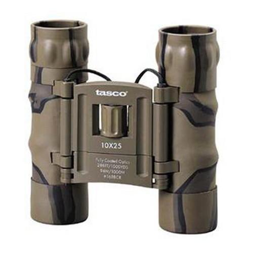 Tasco Essentials 10x 25mm Roof Prism Compact