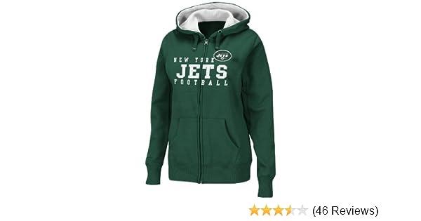 b6b88b49 Amazon.com : NFL New York Jets Women's Deep Post III Hooded Jacket ...