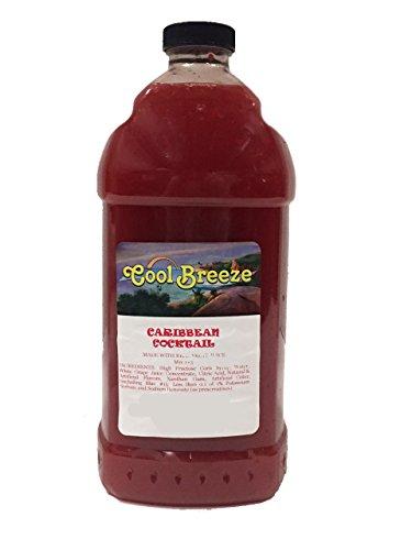 Caribbean Cocktail Frozen Drink Machine Granita Slush Mix (6 Pack)