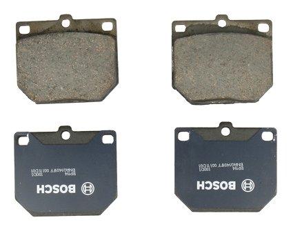 Bosch BP114 QuietCast Premium Semi-Metallic Disc Brake Pad Set For Select Nissan 620, 720, 810, 200SX, 240Z, 260Z, 280Z; Toyota Corona, Cressida, Crown, Mark II, Pickup; Front