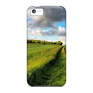 Fashion RFUkQrY1312kCtZK Case Cover For Iphone 5c(field Of Tall Grass)
