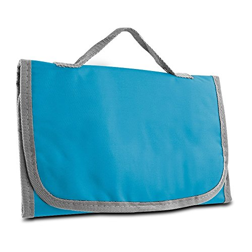 Toiletry Kit, Logic Hanging Trifold Organizer Toiletry Travel Kit, Teal by By-Travelon