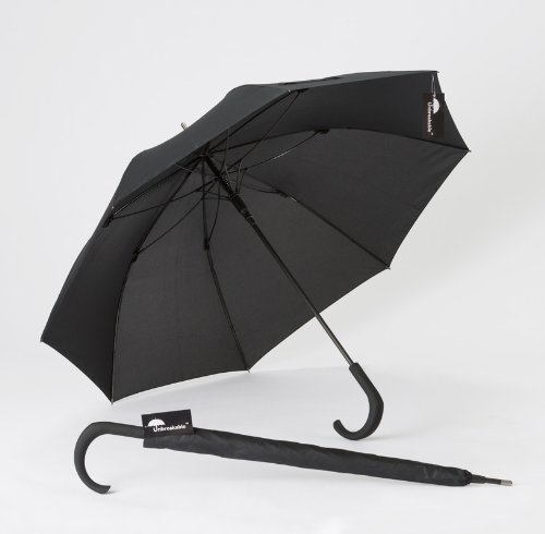 Standard Unbreakable® Walking-Stick Umbrella w/crook handle U-115 by Unbreakable Umbrella