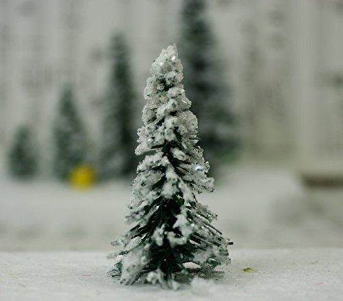 Snowy Evergreen Tree - 2