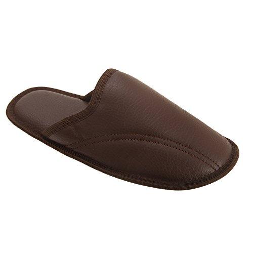 Pantofole Severyn Aperte Foam Uomo Chiaro Marrone Con Memory dw1Bwq