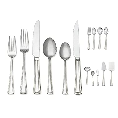 Reed & Barton Walden 81 Piece Service for 12 Stainless Flatware Set