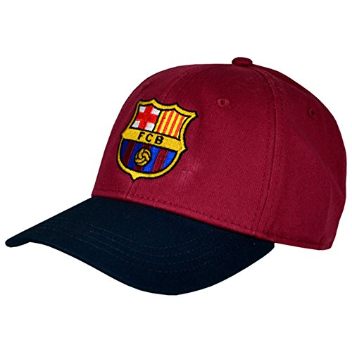 Gorra de unisex Barcelona negro Barcelona FC de béisbol FC Grana xwB5Cq1C