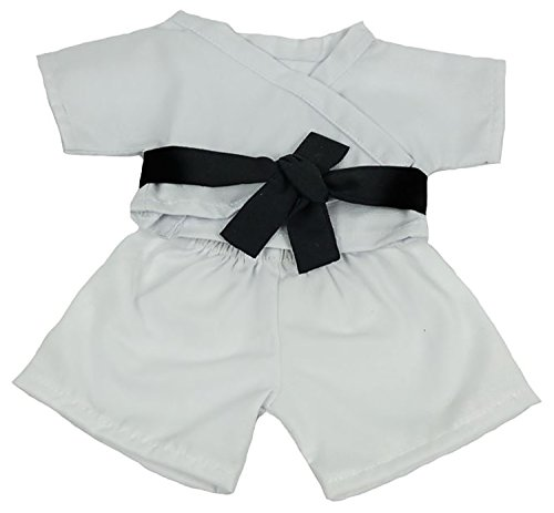 Karate Outfit With Belt Teddy Bear Clothes Fit 8 inch to 10 inch Build-a-bear and Make Your Own Stuffed Animals from Bear Factory