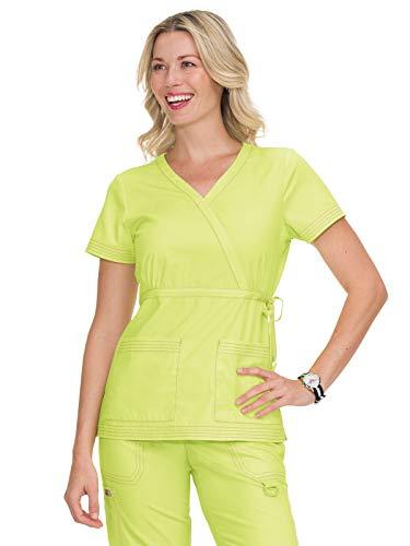 - KOI Classics 137 Women's Katelyn Scrub Top Lemon Lime M