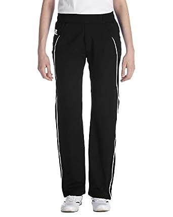 Russell Athletic Ladies Team Prestige Pant, Small, BLACK/WHITE