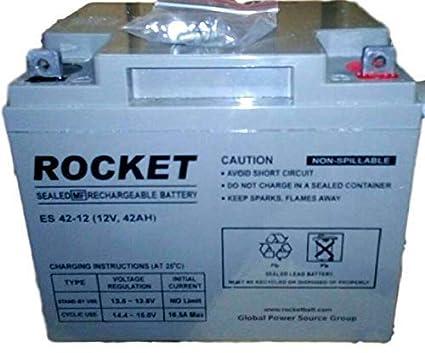Rocket 12V 42AH Battery SMF VRLA (UPS Battery/Uninterrupted