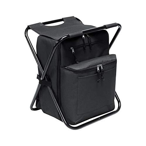 Monogram Online Backpack Cooler, Chair Combo, Black