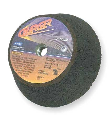 Flaring Cup Wheel, 6 In Diax2 In T, ZA, 16G by Norton Abrasives - St. Gobain