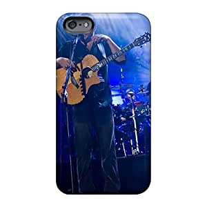 Top10cases Apple Iphone 6 Shock Absorption Hard Phone cases for Christmas and New Year Allow Personal Design High-definition Dave Matthews Band Skin [olz4635tGwy]