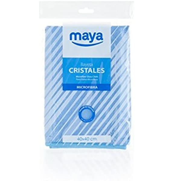 12 Unidades Bobina Bayeta Cristales con Precorte Maya 07075