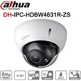 Dahua 6mp Dome POE IP Camera IPC-HDBW4631R-ZS 2.7~13.5mm Motorized Lens WDR Micro SD Recorder H.265 IR CCTV Security Surveillance Camera