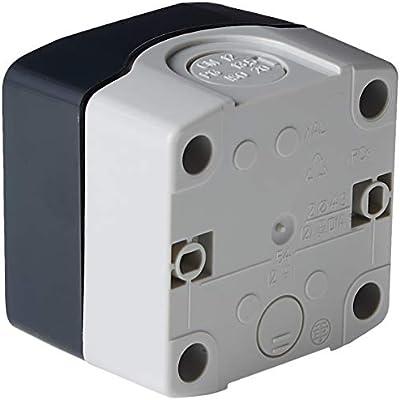 Schneider Electric XALD01 Caja Vacia 1 Taladro: Amazon.es: Industria, empresas y ciencia