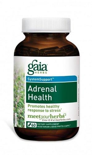 Gaia Herbs - Soutien surrénale 120 lvcaps
