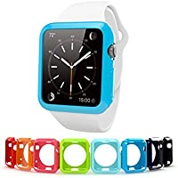 Apple Watch Case 42mm, Cindick Flexible Anti Scratch TPU Rubber Protective Ultra-Thin Edition 2015 iWatch Cover...