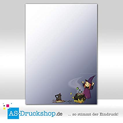 Diseño Papel Halloween - Bruja Cocina/100 hojas/DIN A4/90 g de ...