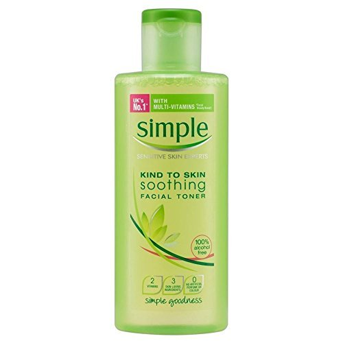 Simple Kind to Skin Soothing Facial Toner (200ml) - Pack of 6