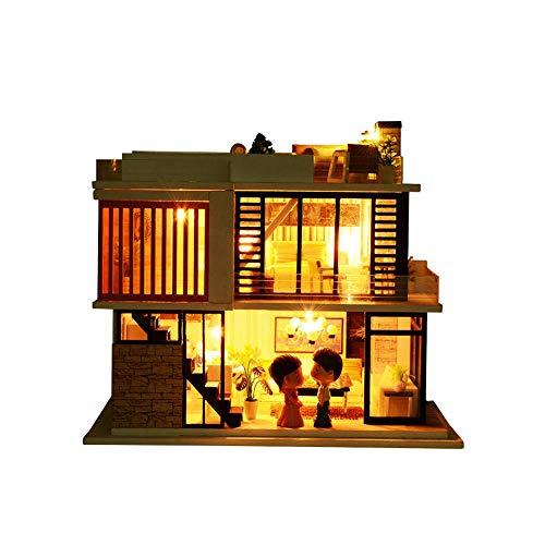 KUGIN Two-Story Creative DIY House Greenhouse Craft kit