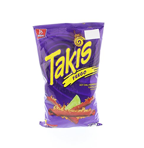 Takis Fuego Hot Chili Pepper Amp Lime Flavored Corn Snacks