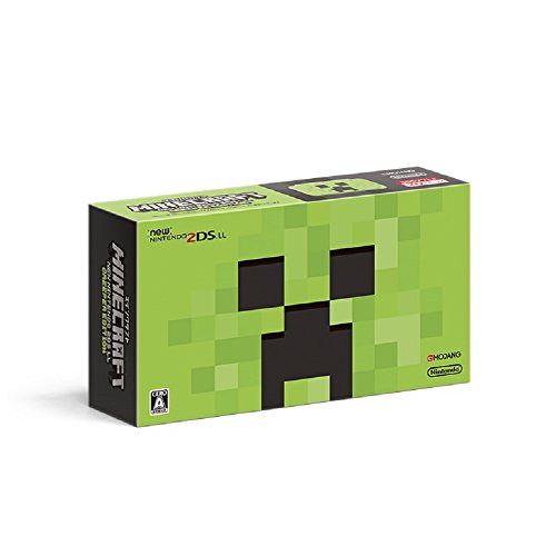 MINECRAFT CREEPER EDITION NEW Nintendo 2DS LL Game Console Japan ver.