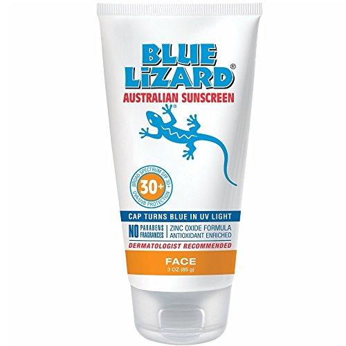 Blue Lizard Australian Sunscreen Face SPF 30 - 3 Ounce Tube