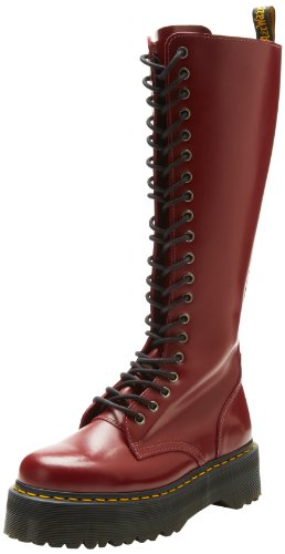 Dr. Martens Womens Britain Boot Cherry Red Smooth
