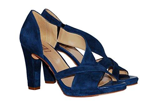 Sandalen Sandaletten aus Leder Schuhe Damen RIPA shoes - 50-36953
