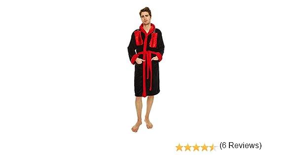 Rocky - albornoz de la bata de Rocky Balboa - del boxeador en Rocky II, para hombre, con capucha y gran logotipo en la espalda, el regalo perfecto para los ...