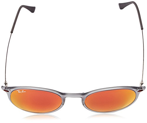 Ray RB Grey Ray Matte Sonnenbrille 4224 Round Light Ban OP1HqP