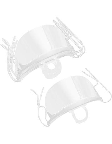Visera a Prueba de Viento para Proteger la Cabeza de los Ojos Cubierta Facial Reutilizable contra Salpicaduras 2 Piezas de Careta de Seguridad Sombrero a Prueba de Polvo para Hombres y Mujeres