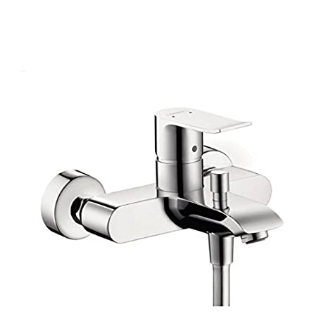 Hansgrohe 31480000 Metris grifo de bañera visto, cromo: Amazon.es: Bricolaje y herramientas
