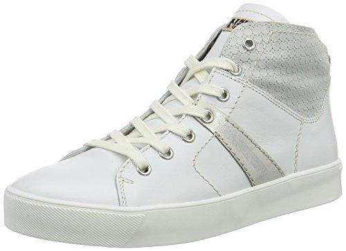 Alte Sneaker Donna white Napapijri N29 Bianco Minna qT6wxPE