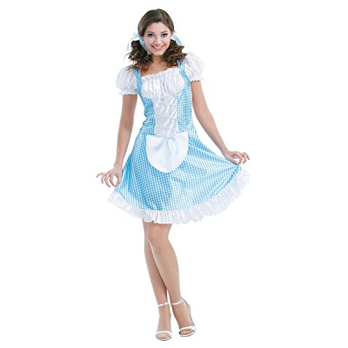 [Totally Ghoul Storybook Beauty Costume, One Size Fits Most] (Dorothy Of Oz Costumes For Adults)